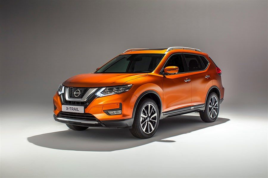 NISSAN X-TRAIL in Orange - Aussenansicht